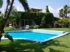 Villa Santamarinasalina Porto Rosa - Villa Santa Marina Portorosa con piscina 8 person  cucinotto, soggiorno con divano letto