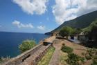 Villa sul mare Malfa Salina - Casa fronte mare a Malfa isola di Salina in vendita con vista mare e sulle isole di Panarea