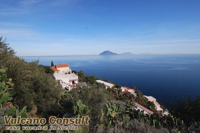 Villino panoramico Alicudi