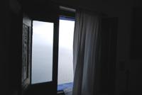 Vista mare dalla camera da letto