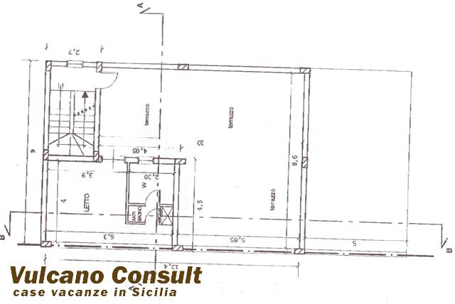 Vendesi isola di lampedusa terreno edificabile con for Progetto piano terra