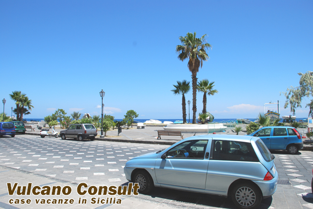 Canneto Beach Lipari