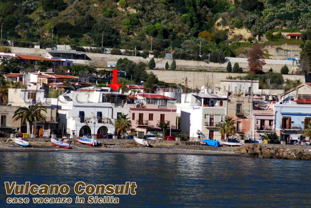 localizzazione casa dal mare