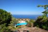 villa / giardino / piscina / panorama