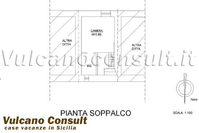 Piantina soppalco