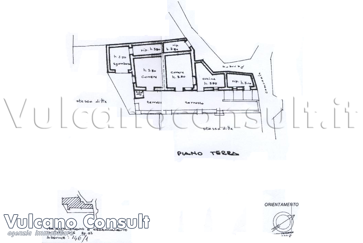 House to sell in Lipari, district Pirrera