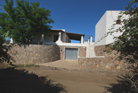 Garage villa
