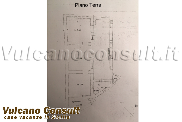 Casa eoliana San Leonardo Lipari