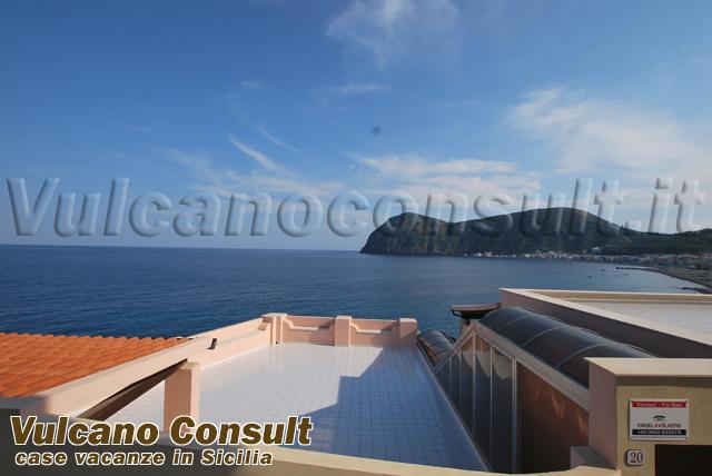 Balcone sul mare Sparanello Canneto Lipari