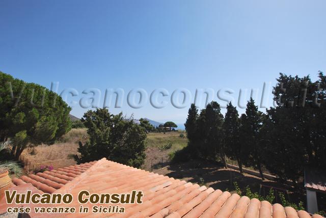 Casa indipendente panoramica Pianoconte Lipari