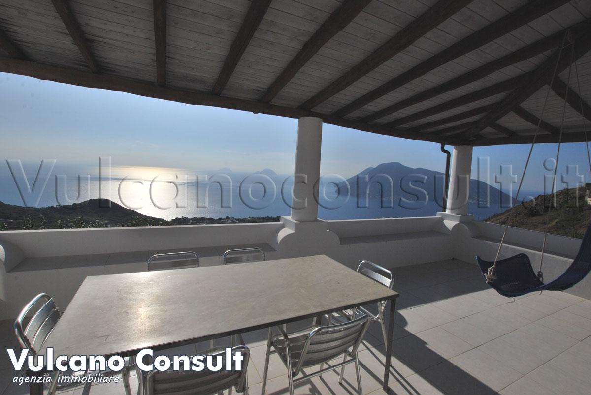 Villa vista mare Quattropani Lipari