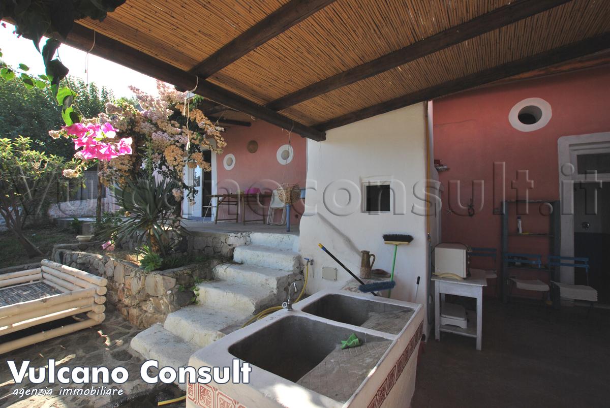 Casa eoliana tipica Lipari