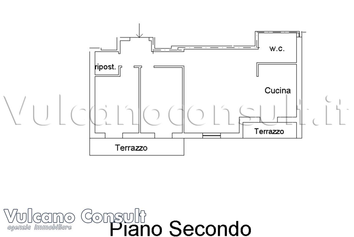 Appartamento secondo piano Lipari
