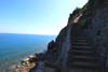 scalinata / mare