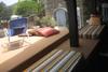 zona relax/sedili in muratura