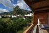 Il panorama lato monte dalla terrazza