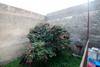 giardino interno villa