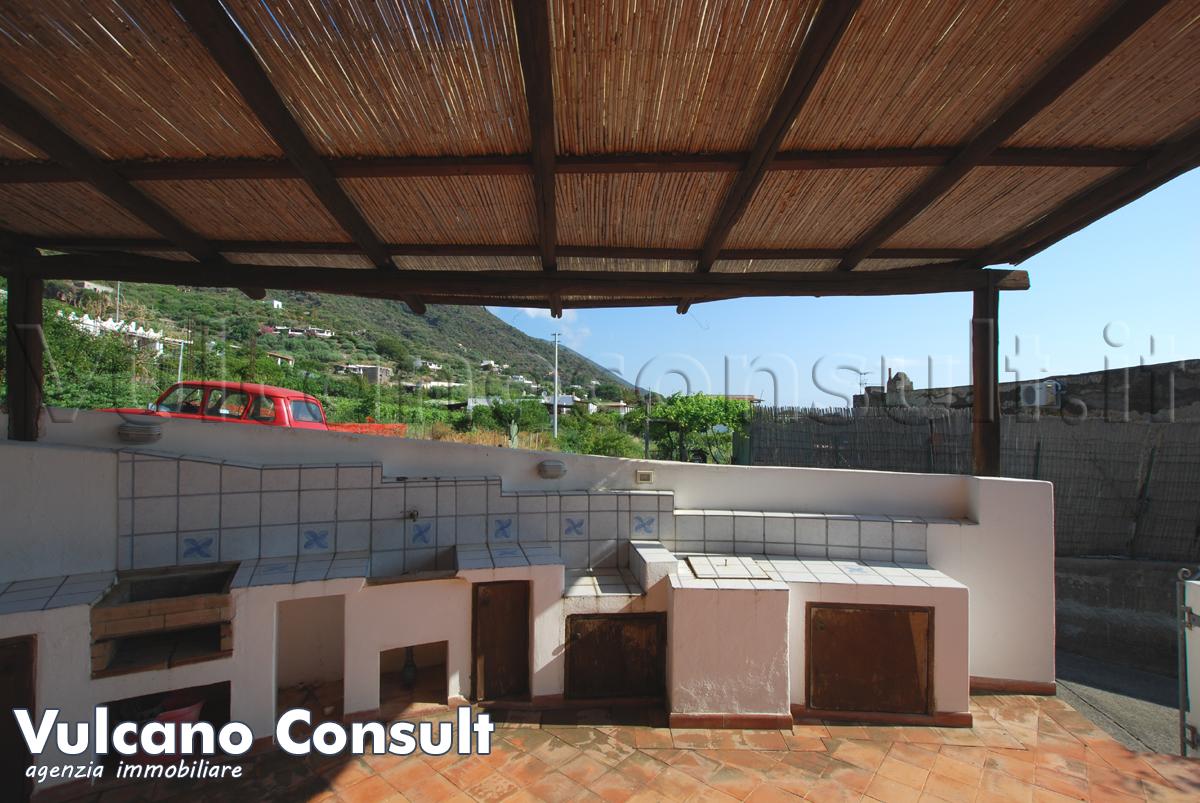 Casa vista mare con giardino Lingua