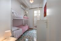 Camera con letto a castello
