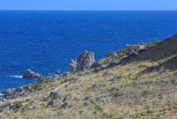 sentiero per l'accesso al mare