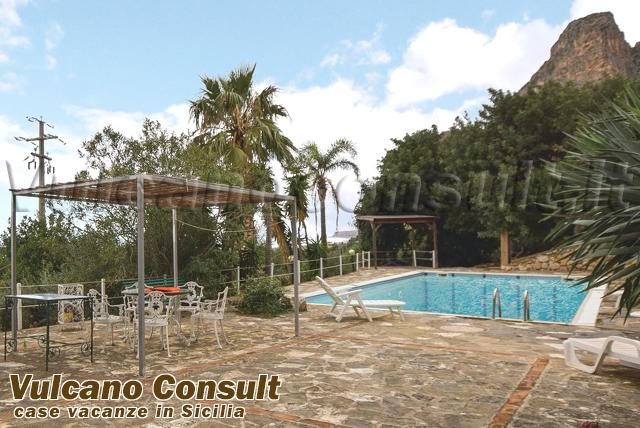 Casa vacanze con piscina Macari San Vito