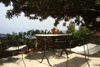 giardino attrezzato panoramico