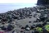 La spiaggia di scogli