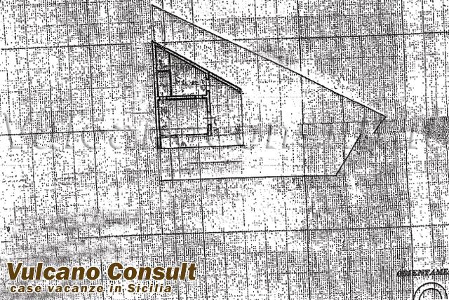 Vendesi villetta a schiera vulcano id8890 for Planimetria di cottage calabash